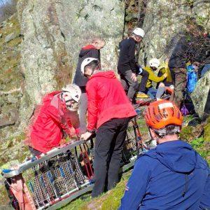 Little Chamonix Rescue 28th March 2019