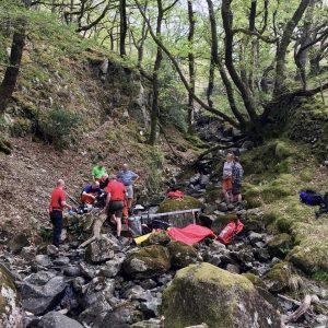Stonethwaite Rescue 24th April 2019